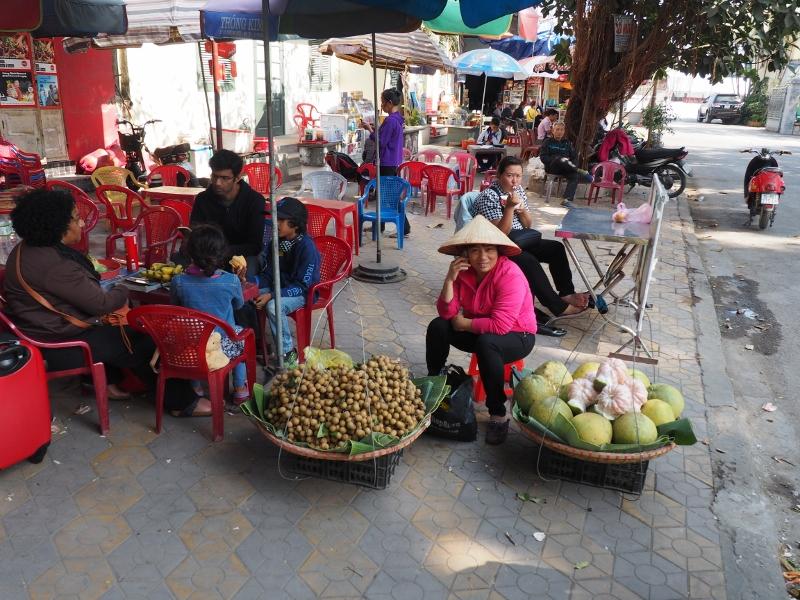Marchande de rue à Haïphong